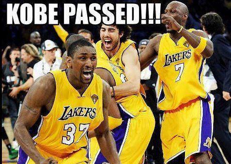Kobe passed