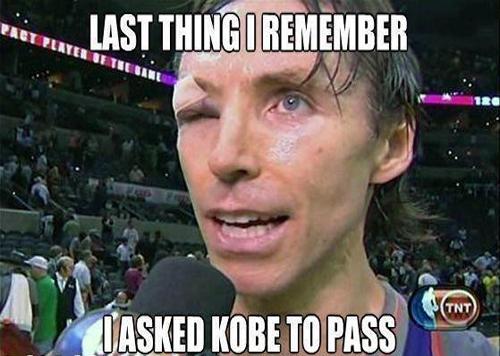 Ο Nash ζήτησε πάσα από τον Kobe