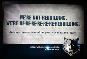 Timberwolves rebuilding