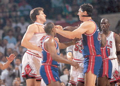 Bill Laimbeer, the Prince of Darkness