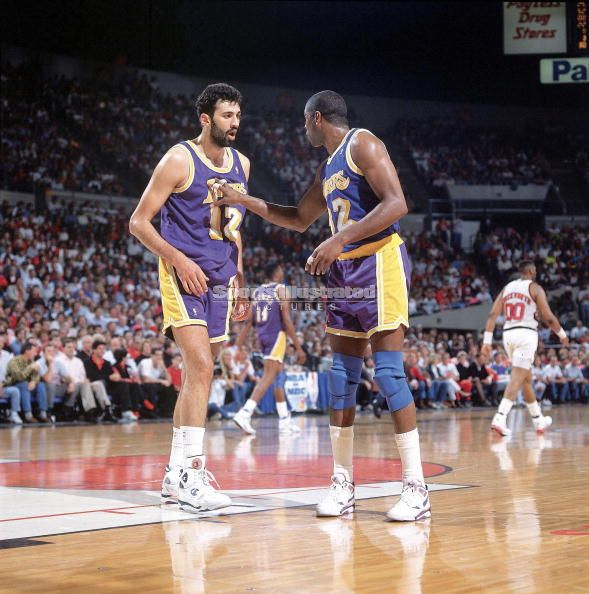 Vlade Divac, Magic Johnson