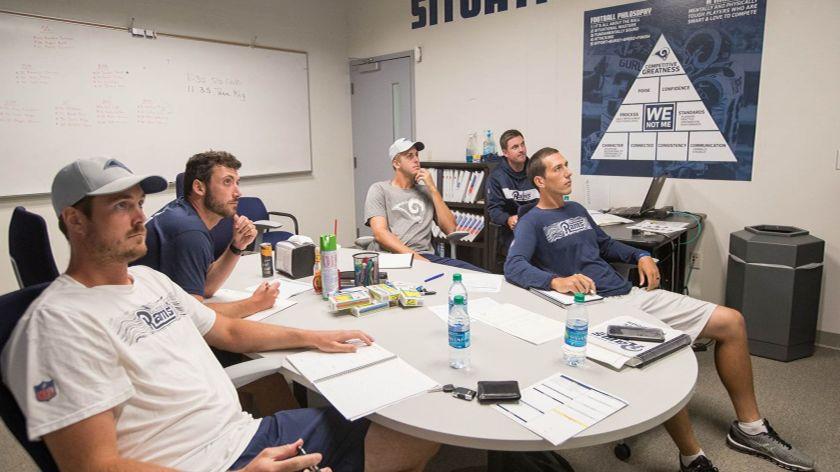 Quarterback planning session
